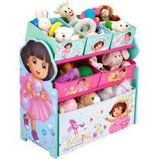 Dora the Explorer - Multi-Bin Toy Organizer hot new design from 2014 by Dora the Explorer