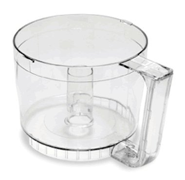 - Cuisinart DLC-2AWB-1 Work Bowl with Clear Handle, 24 oz