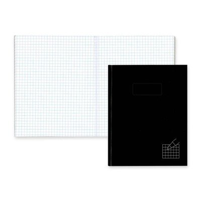 Rediform Office Products Products - Composition Books, 4x4 Quad, 192 Ct, 9-1/4quot;x7-1/4quot;, Black - Sold as 1 EA - Hardbound notebook offers a smooth leatherlike cover, self-adhesive tabs, index system and 4 x 4 quadrille-ruled sheets. Notebook is mad