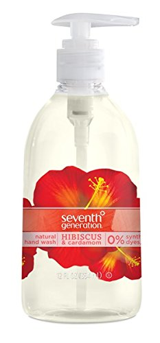 Seventh Generation Hand Wash, Hibiscus & Cardamom, 12 Ounce