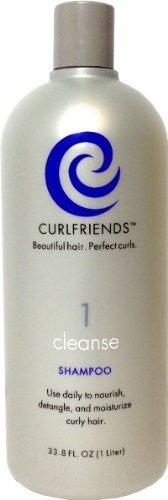 Curl Friends Cleanse Daily Shampoo- Liter Case Pack 6