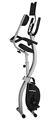 Innova XBR450 Folding Upright Bike with Backrest and iPad/Android Tablet Holder