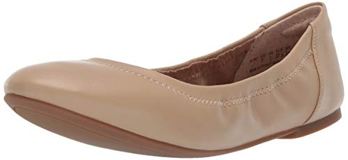 Amazon Essentials Women's Ballet Flat, Nude, 7 B -