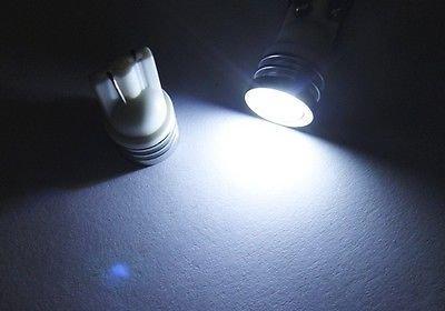 (LEDIN 2x 1.5W High Power LED Front Side Marker Light T10 168 194 W5W WHITE)