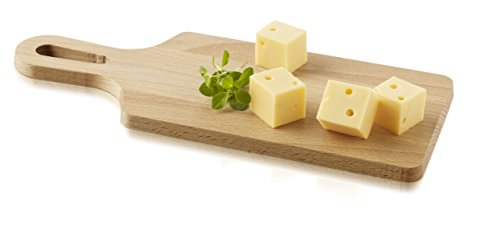 Boska Holland Geneva Collection Luxe Beech Wood Cheese Board with Handle, 4.7 by - Beechwood Cheese Board