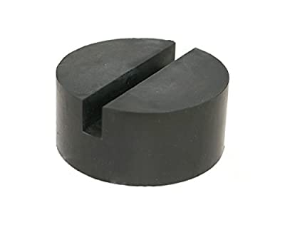 Universal Medium Size Slotted Rubber Jack Pad Frame Rail Protector