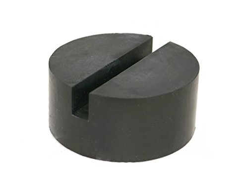 Find Bargain Single Medium Size Universal Slotted Rubber Jack Pad Frame Rail Protector
