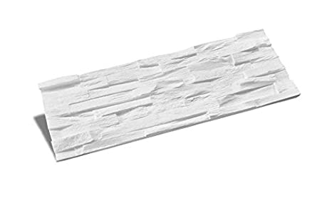 paneles decorativos de poliestireno expandido / Benevento blanco/ plaqueta decorativa / paneles decorativos / piedras decorativas / paneles poliuretano ...