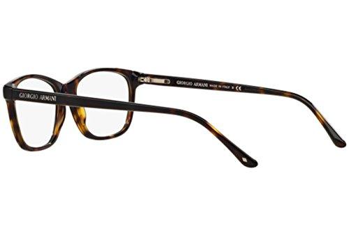 ... Giorgio Armani Montures de lunettes 7021 Pour Femme Black, 52mm 5026   Tortoise ... 6be3cf216ea1
