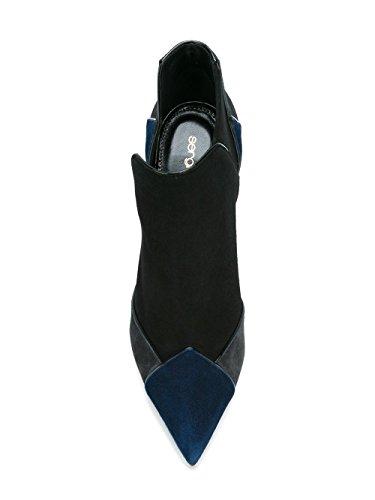 Noir Femme A75190MAF9104122 Talons Suède Sergio Rossi Chaussures À 6Z7WqAw