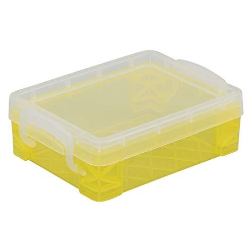 Crayola Crayons 24 Count with Yellow Super Stacker Plastic Crayon Box (Bundle)