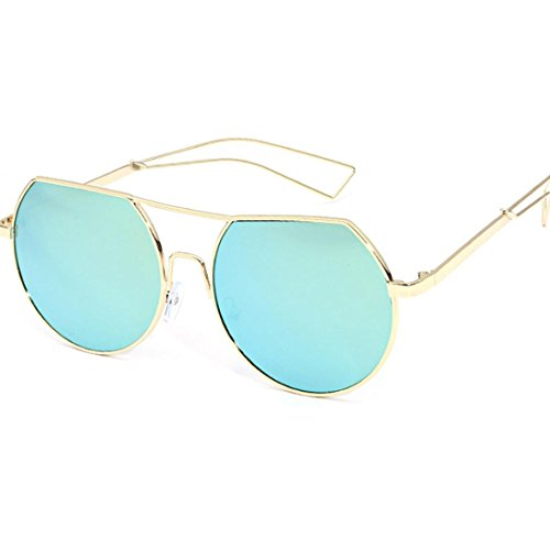 Transer Fashionable Women Metal Frame Aluminum-Magnesium Alloy Mirror Legs Glasses Sunglasses - B&g Sunglasses