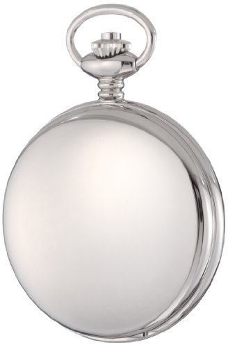 Charles-Hubert-Paris-3900-W-Classic-Collection-Polished-Finish-Hunter-Case-Quartz-Pocket-Watch