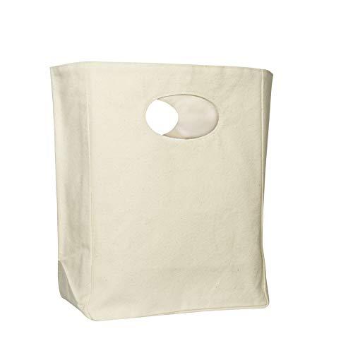 [해외]Best Cotton Canvas Lunch Bag - Organic Cotton Lunch Bags - Reusable Lunch Bag - Canvas Lunch Tote for Men & Women - Lunch Bag for Kids - Eco Friendly Lunch Bag (White) / Best Cotton Canvas Lunch Bag - Organic Cotton Lunch Bags - Re...