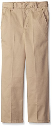 French Toast Big Boys' Pull-On Pant, Khaki, 16 by French Toast