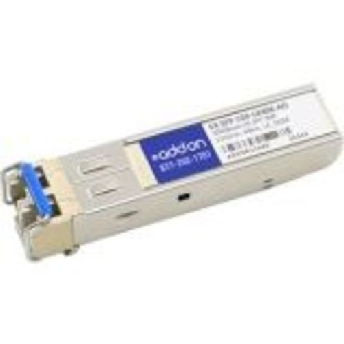 Addon EX-SFP-1GE-LX40K-AO 1000BLX LC F/JUNIPER 1310NM 40KM GUARANTEED COMPATIBLE from Add-onputer Peripherals, L