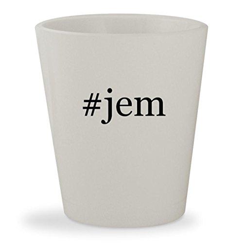 Jem'hadar Costume (#jem - White Hashtag Ceramic 1.5oz Shot Glass)