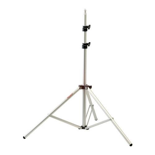 Photogenic 6' Air Cushioned, Heavy Duty Lightstand with 5/8'' Mounting Stud, 4 Section with 3 Risers, Aluminum. (TALS6)