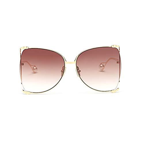 Personality Des B Sport Couleur Soleil Box Big rétro de lunettes Nouvelle coréenne D Lunettes Version Street Femme soleil de dégradées de Beat rIawqHRr