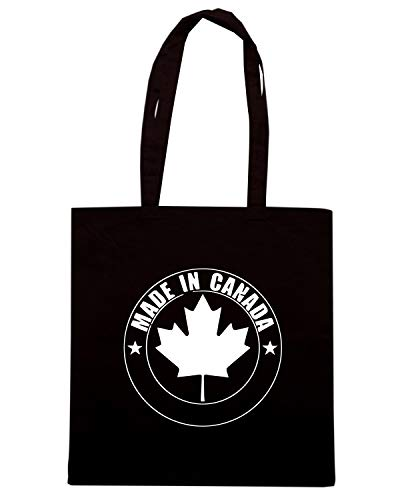 CANADA Shirt Speed WES0947 IN Nera Borsa MADE Shopper q0RRwxg1U