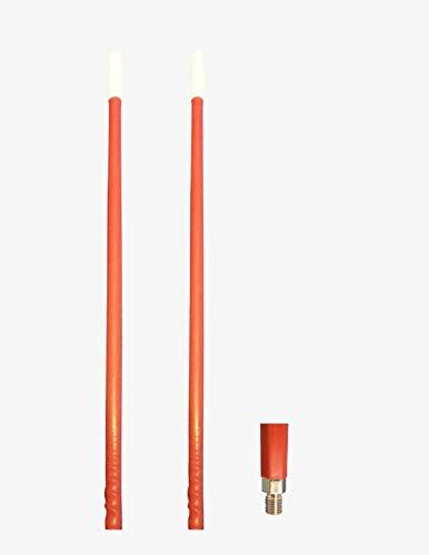 CB Radio Supply 2` Foot Fiberglass 1000 Watt Red CB Radio An