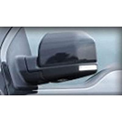 CIPA 11550 Black Custom Towing Mirror Sleeve: Automotive