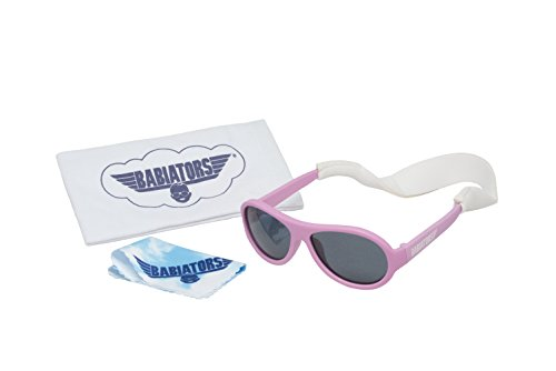 Babiators Gift Set - Princess Pink Original Sunglasses (Age 0-3) and Accessories - Gift Sunglasses