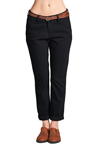 OLLIE ARNES Women's Classic Stretchy Plus Size Formal Dress Pants Slacks