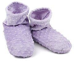 Sonoma Lavender - Lavender Dot Spa Booties by Sonoma (Spa Booties Lavender Sonoma)
