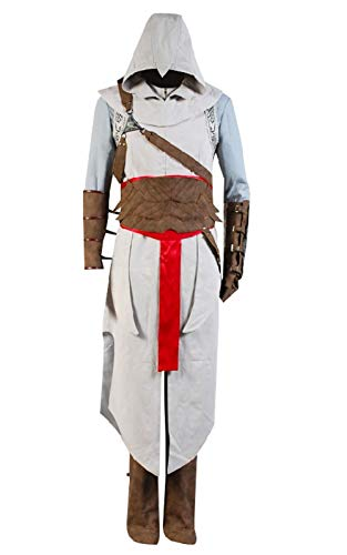 GOTEDDY Adult Men's Halloween Cosplay Costume Full Set Outfit Suit XL