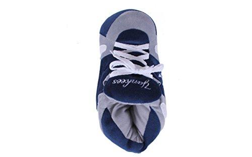 Pieds Confortables Pieds Heureux Et Hommes Et Femmes Sous Licence Officielle Pantoufles Sneaker Mlb New York Yankees