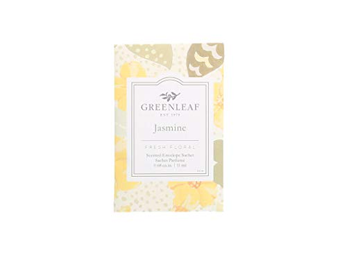 - GREENLEAF Small Scented Sachet - Jasmine - Up to 4 Months - Made in The USA