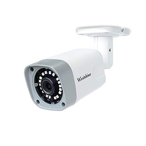 Westshine 5MP AHD Bullet Camera 4MP TVI/CVI Security Camera IP66 Weatherproof Outdoor/Indoor IR Nightvision Wide View Angle-Fit for 5MP AHD DVR 4MP TVI/CVI DVR and 960H DVR