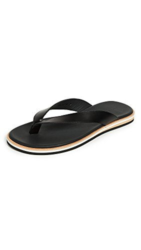 WANT LES ESSENTIELS Mens Dumont Thong Sandals Black MDrmos
