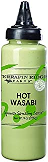 product image for Hot Wasabi Garnishing Sauce by Terrapin Ridge Farms – One 9 oz Squeeze Bottle