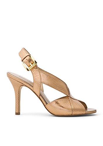 Antique Gold Footwear - Michael Kors Michael Women's Becky Dress Sandal, Antique Gold, 8.5M US