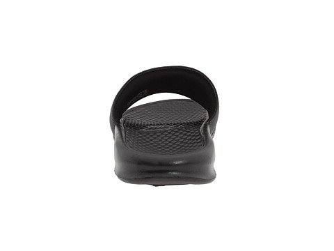 Nike Mens Benassi Swoosh Glid Sandal (14 D (m) Oss, Svart)