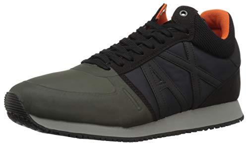 Armani Men Running Retro Black Ivy climbing Exchange X A qtT5zz