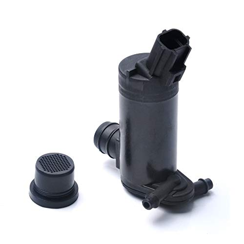 Windshield Washer Pump for Ford, Lincoln, Mercury - OTUAYAUTO Factory OE Style with Grommet 6F9Z-17664-A ()