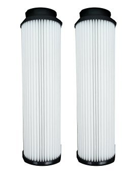 2 PACK. Type 201 HEPA Filters for Hoover Windtunnel, Savvy & Empower vacuum cleaners. Replaces OEM# 43611042, 42611049, 40140201. Long-Life Washable and Reusable. By Green Label.