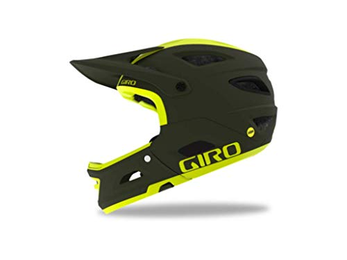 Giro Switchblade MIPS Matte Olive Citron Dirt Bike Helmet Size Large