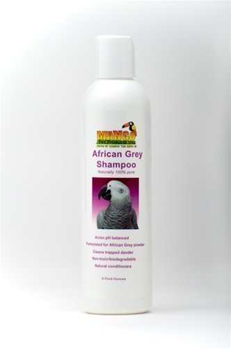 8 Oz Afriacan Grey Shampoo Bird Toy Parts Parreds Bathe by Jungle Beaks
