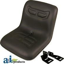 COMPACT TRACTOR FLIP SEAT W/ BRACKETS KUBOTA YANMAR FORD SATOH MASSEY CASEIH by Kubota