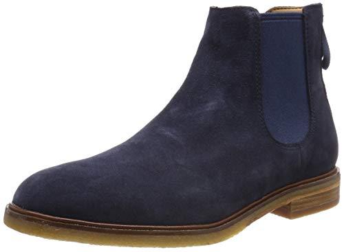 Suede Boots Chelsea Blau Clarkdale Clarks Herren Gobi navy IwH704qx