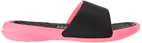 Under Armour UA W Debut Fix SL, Chaussures de Plage et Piscine Femme, Noir Noir (Black)