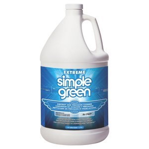 1gal Bottle Extreme Simple Green Heavy Duty Degreaser and Aircraft Cleaner, (Case of 4)