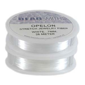 Beadaholique Opelon Floss Stretch Bead Cord, 82-Feet