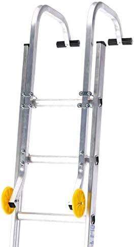 Kit genérico F Gancho de Techo Kit Extensiones escaleras de Ajuste rápido Ajuste rápido Kit de Rueda para fijación de Ruedas: Amazon.es: Electrónica