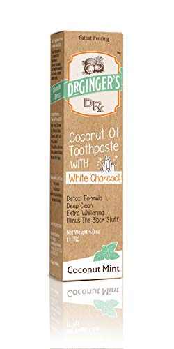 Dr. Oil Toothpaste Charcoal | | Natural | Fluoride | Healthy Gums |