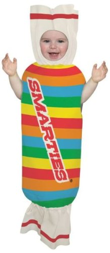 Smarty Pants Fancy Dress (Smarties Bunting Costume - Newborn)